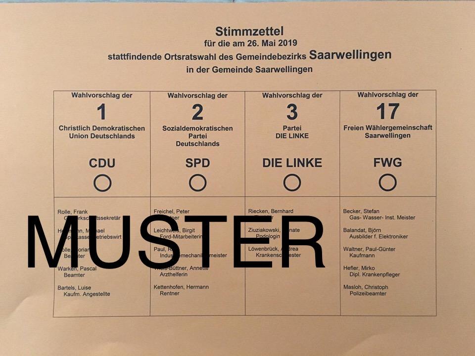 Wie funktioniert die Kommunalwahl am 26. Mai 2019?