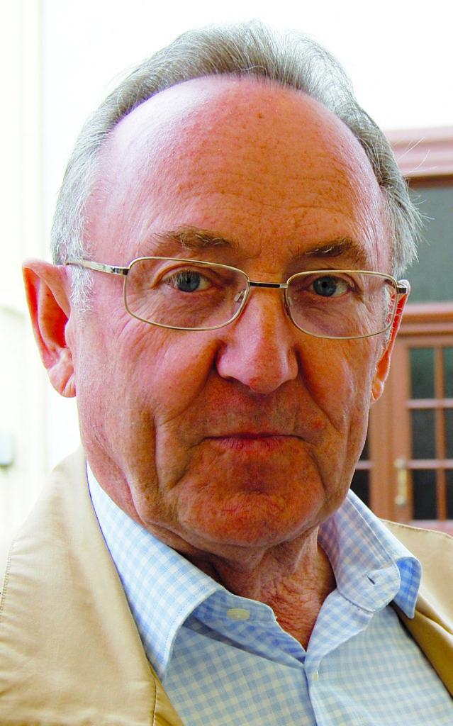 Unser Jubilar Erwin Maas